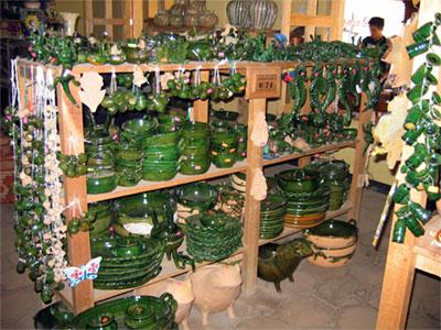 Plant Potters Santa Maria Atzompa Green Pottery Village